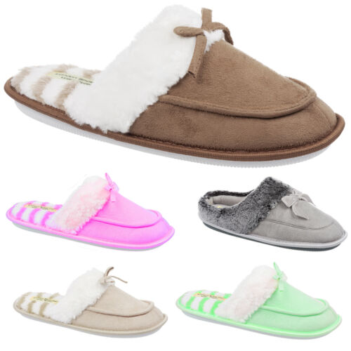 Ladies Knitted Bootie Slippers with Pom Pom Design Size 3 to 8 UK - LUXURY BOOT <br/> MULTIPLE COLOURS & DESIGNS - PERFECT GIFT - WASHABLE