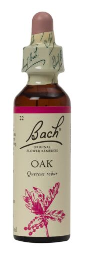 Bach Flower Remedies, Roble 20ml. Bbe 02/2023
