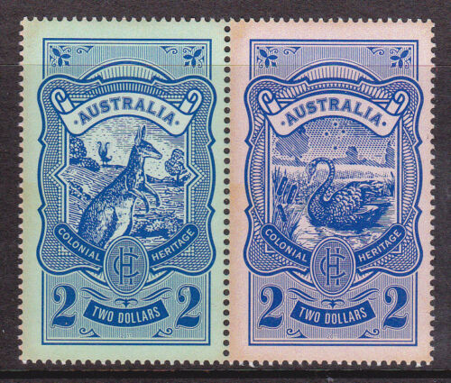 2011 Colonial Heritage - MUH Pair of $2 Stamps