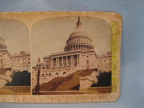 Stereoview World Series Vintage The Magnificent Capital Washington DC 1906 (O)
