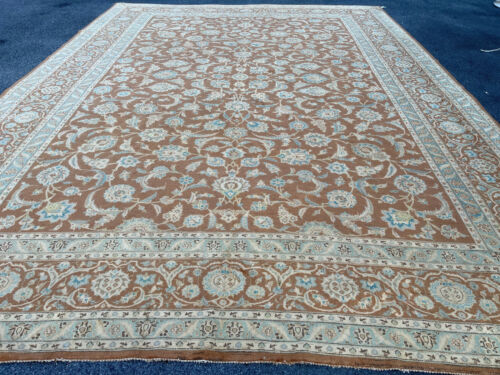 Antique Handmade Beautiful  TabrizI  Rug 12x16ft
