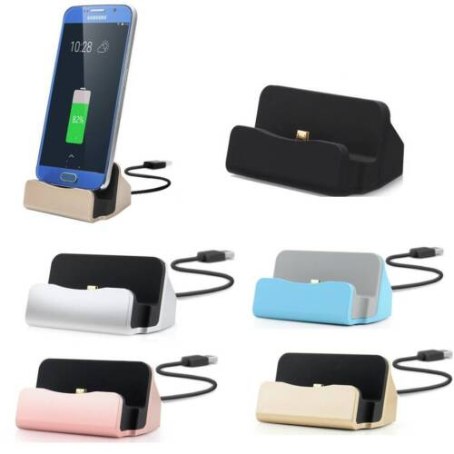 Charging dock desktop stand docking station for micro USB, Android, Samsung, HTC
