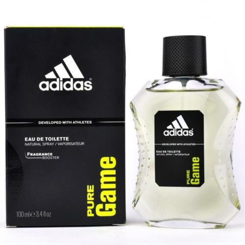 Adidas PURE GAME Cologne for Men 3.4 oz edt 3.3 Spray New in BOX