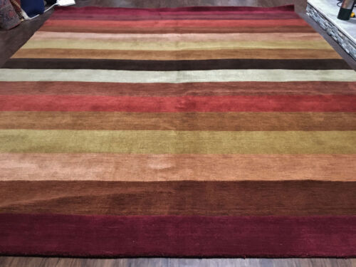 New beautiful Thick Pile Modern Gabbeh  Oriental Area Rug 9x12ft