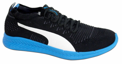 Puma ProKnit Mens Lace Up Black Trainers Running Shoes 188177 07 Z57B