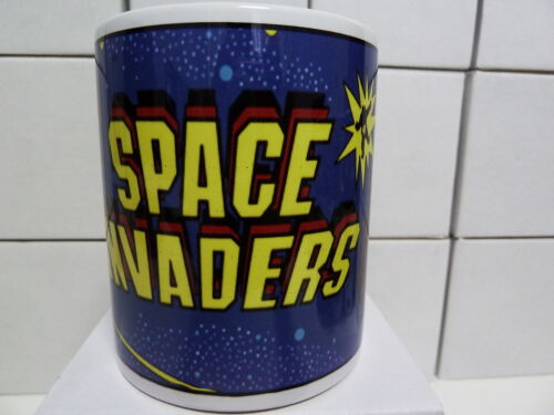 300ml COFFEE MUG, CLASSIC COIN OP ARCADE GAME - SPACE INVADERS