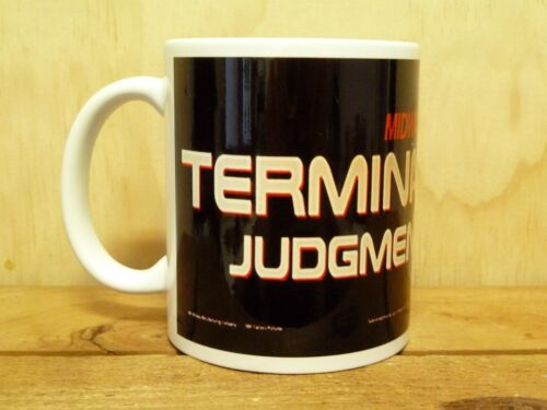 300ml COFFEE MUG, CLASSIC COIN OP ARCADE GAME, TERMINATOR 2 JUDGEMENT DAY
