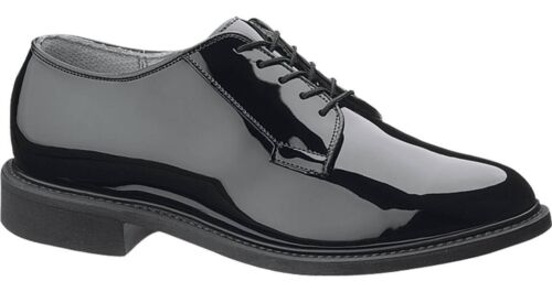 NEW Bates 941-B Mens  High Gloss Military Oxfords-Made in USA-FAST FREE USA SHIP