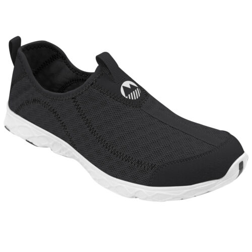 Lakeland Active Men's Hybrid Water Draining Aqua Shoe Lightweight Trainers Black