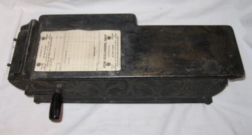 American Sales Book Co Automatic Receipt Machine Aliner Victorian Store (O2)