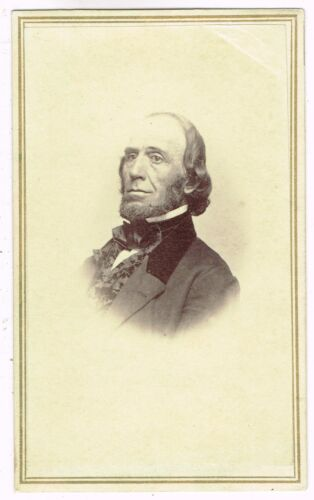 Man of Notoriety  in Salem Massachusettes by E.R. Perkins 1860's CDV