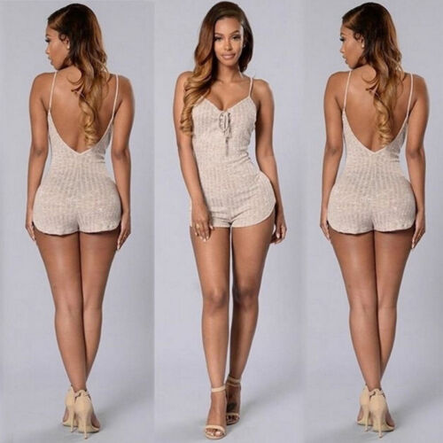 New Womens Summer Clubwear Playsuit Bodycon Party Jumpsuit Trousers Romper