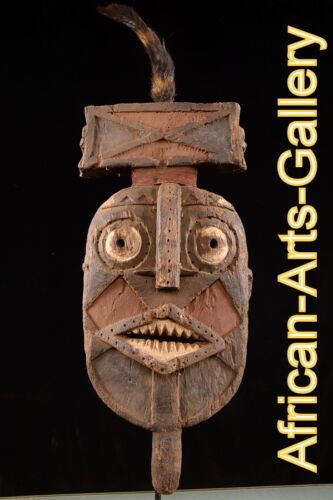 51317 old mask of NUNUNA, Burkina Faso, Africa