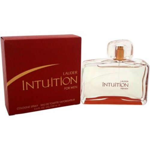 INTUITION by Estee Lauder cologne for Men 3.3 / 3.4 oz EDT NEW IN BOX