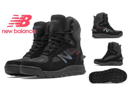 New Balance Men's Fresh Foam 1000 Cold Weather Insulated Boots, Black with Grey