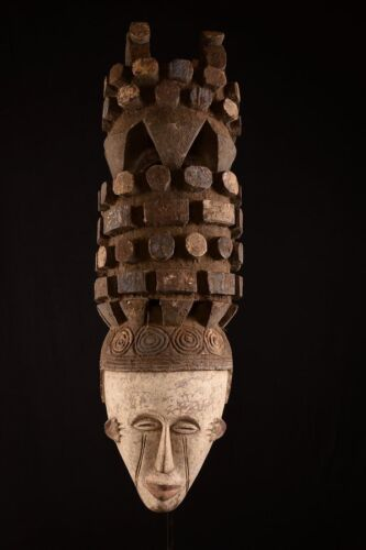 1801 Mega big Helmet mask the Igbo Nigeria Africa