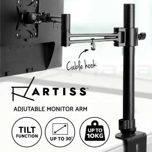 Artiss Monitor Arm Stand Single HD LED Display Desk Mount Bracket Screen Holder