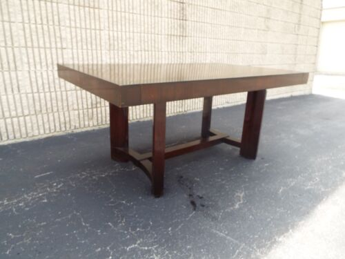 MCM Widdicomb Robsjohn Gibbings  2 leaves Dining Conference Table Delivery avail