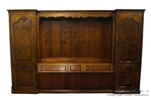 HENREDON Villandry Country French King Size Pier Group Wall Unit 3202