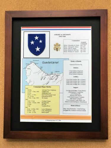 Americal Division Insignia and History in World War II (23rd Division)