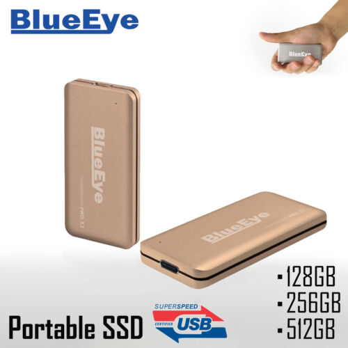BlueEye ThunderDisk Pro 512GB USB 3.0 Moblie Portable SSD External Hard Drive AU