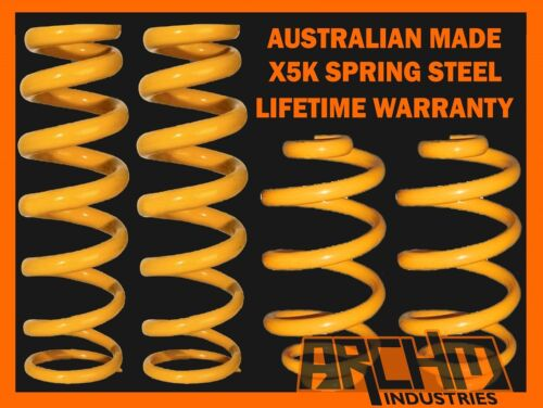 HOLDEN COMMODORE VE SPORTWAGON 6CYL F/&R 50mm SUPER LOW KING COIL SPRINGS