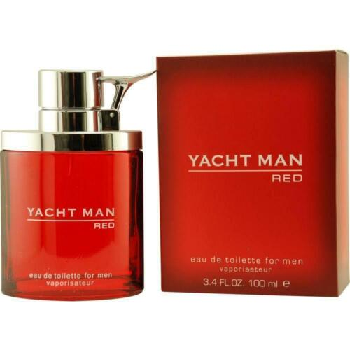 YACHT MAN RED by Myrurgia cologne EDT 3.3 / 3.4 oz New in Box