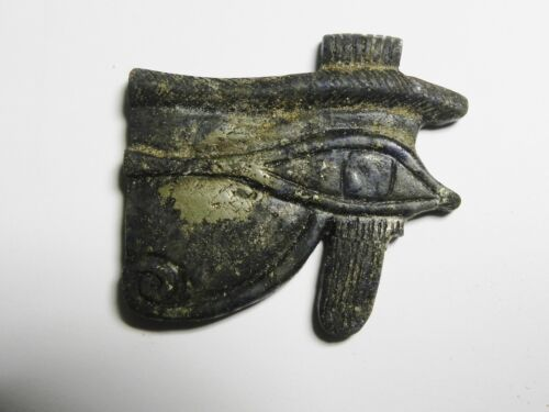 ZURQIEH - BEAUTIFUL ANCIENT EGYPTIAN LAPIS LAZULI EYE OF HORUS, 600 - 300 B.C