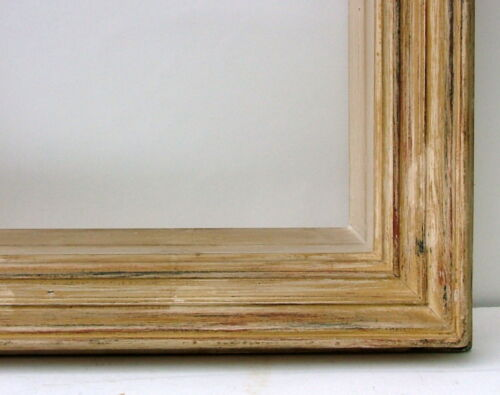 """FRAME MID-CENTURY MODERN WOODEN CARVED FITS 15 1/2"""" X 12 1/2"""""""