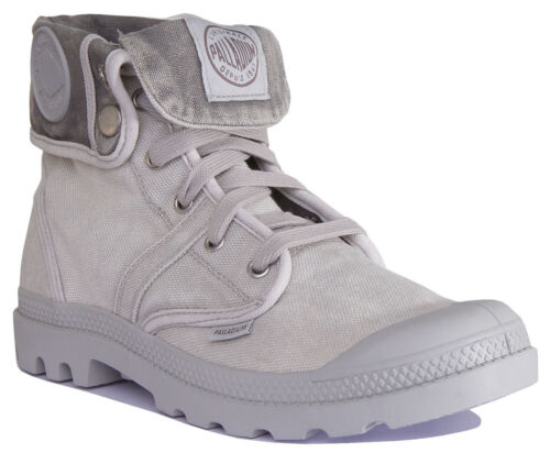 Palladium Pallabrouse Baggy Men Canvas Vapour Hi-Top Boots Size UK 6 - 12
