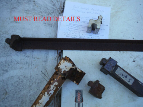 BED RAIL SAMPLE for Iron Beds (sample to test fit, not for sale) 30.$ refunded