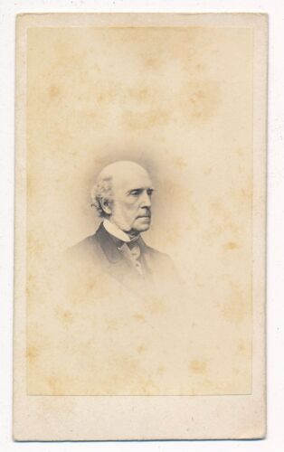 Probably a Professor at Harvard in the 1860's CDV No Photographer