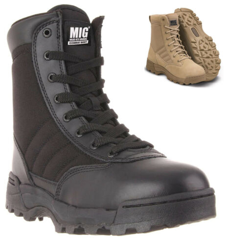 NEW Mens Tactical Army Combat Boots Size 7 to 11 UK SECURITY WALKING WORK 8251