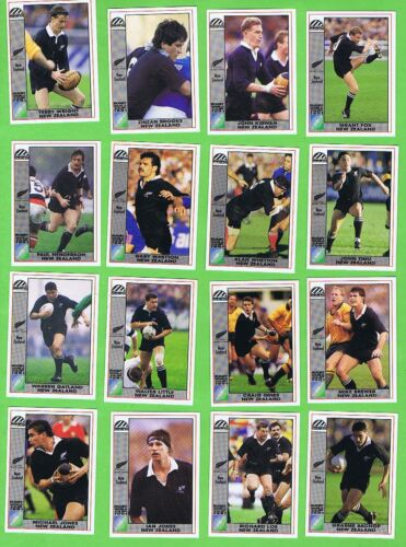 #D557.  1991  NEW ZEALAND  RUGBY UNION WORLD CUP CARDSRugby Union Cards - 2969