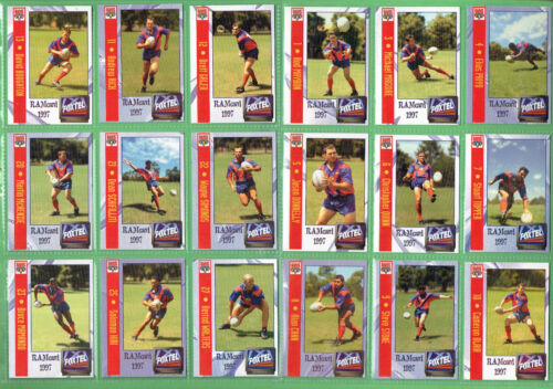 #t74. Set(25)  1997 Adelaide Rams Rugby League Super League Cards