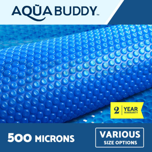 Aquabuddy Solar Swimming Pool Cover 500 Micron Outdoor Bubble Blanket <br/> High quality LDPE✔ UV-resistant✔ Safety and durable✔