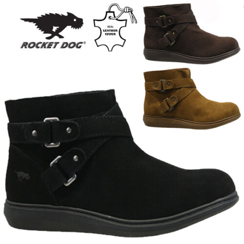 ROCKET DOG LADIES LEATHER WINTER SNOW WARM WALKING HIKING ANKLE BOOTS SHOES SIZE <br/> SPECIAL OFFER***RRP £59.95