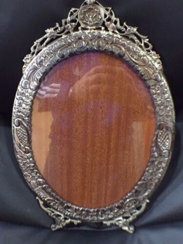 GORGEOUS  Mid-Century Handmade Sterling Picture Frame