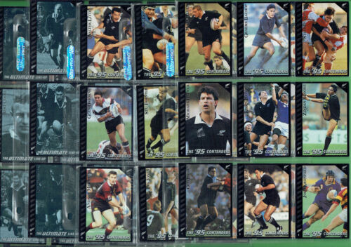 #EE.  SET(55) 1995 ALL BLACKS  RUGBY UNION CARDSRugby Union Cards - 2969