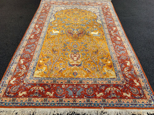 5X8FT EXCEPTIONAL SUPER FINE   RUG Ca 1940-  80 RAJ