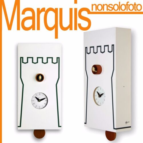 """watch cuckoo 201 """" Tower"""" white watches Pirondini Time Marquis"""