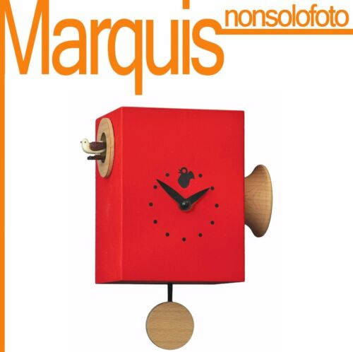 Watch Cuckoo 804 'Trombettino' Red 3002 - 11 Colors Available Marquis