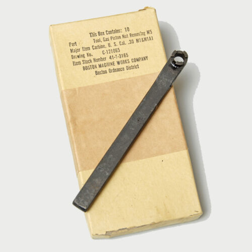 CARBINE  PISTON WRENCH TOOL. Other US WWII Original Items - 585