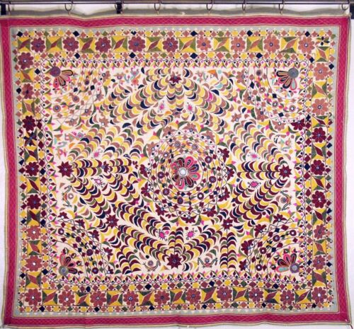 Vintage Rustic Décor Tapestry Artisan Made Huge India Wall Hanging Decoration