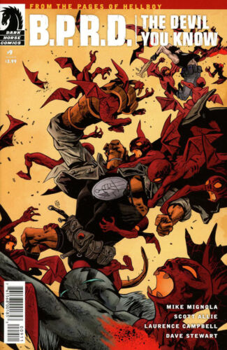BPRD The Devil you know #9 Comic Book 2018 - Dark Horse
