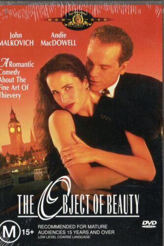 THE OBJECT OF BEAUTY - John Malkovich - DVD - NEW and SEALED -Never played - R 4