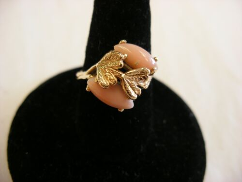 Vintage Victorian Style Jewelry 10K Gold Ring  Size 5 1/2 - 2.98g #131