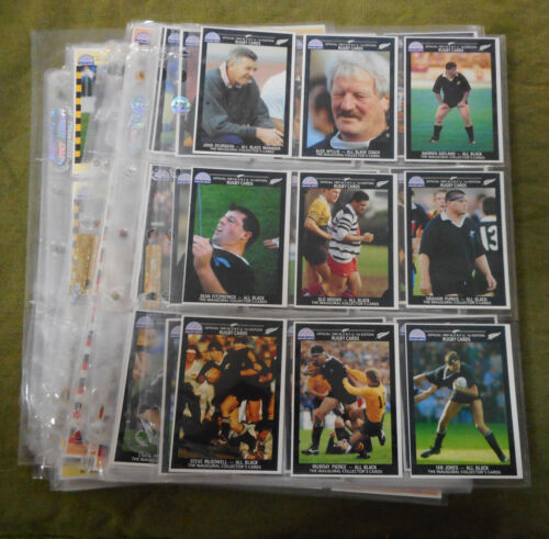 #LL2. 1991  SET OF 217 NEW ZEALAND  RUGBY UNION REGINA  CARDS Rugby Union Cards - 2969
