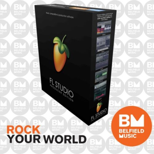 Image Line Fruity Loops FL Studio 20 (Producer Edition) (Serial Only)