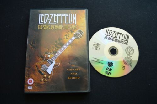 LED ZEPPELIN THE SONG REMAINS THE SAME RARE DVD!